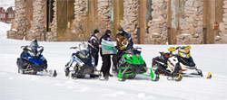 Be propared for your snowmobile ride