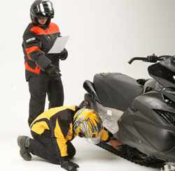 Smart preparation makes for a safe and enjoyable snowmobile ride