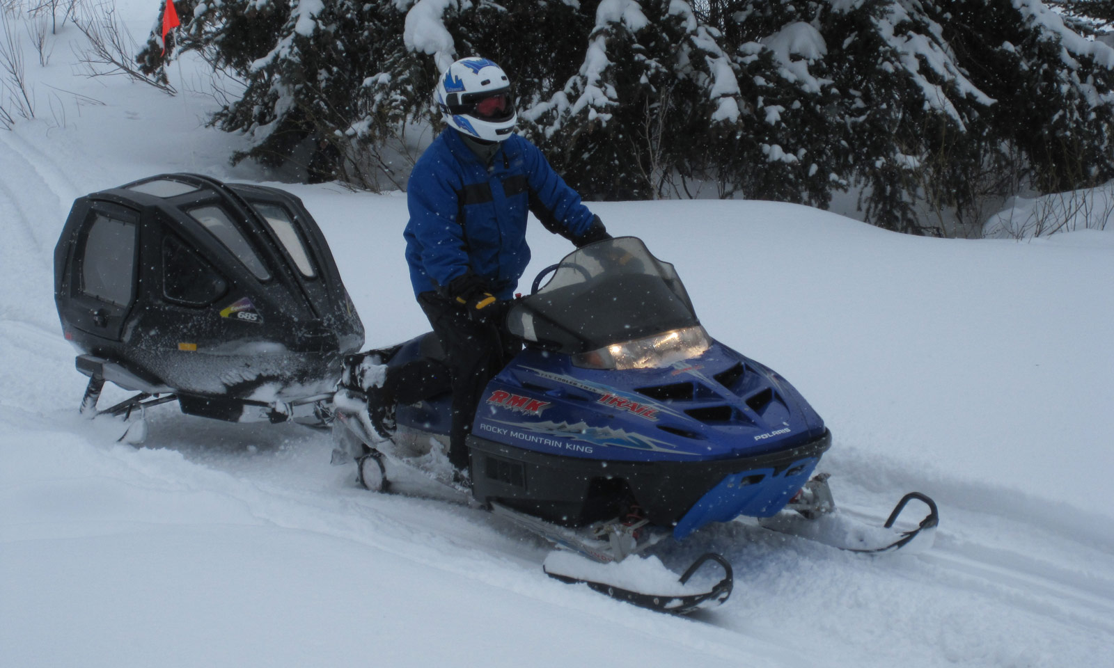 Towing Your Snowmobile Safe Riders Snowmobile Safety Awareness